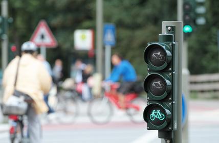 Fahrradverkehr in Reinickendorf